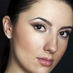 Простой макияж для карих глаз